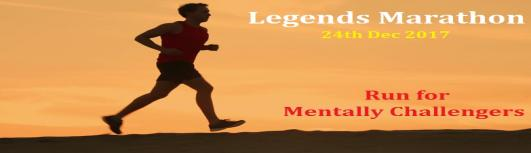 Legends Marathon - Sunday December 24th, 2017 , 6:00 AM to 11:00 AM  - Chennai