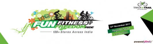 Track and Trail Adyar - FUN FITNESS FREEDOM RIDE - Sunday November 12th, 2017  - Chennai