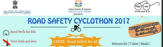 Road Safety Cyclothon 2017 - Thursday September 14th, 2017 to Sunday September 17th, 2017 , 5:00 AM to 10:00 AM  - Chennai
