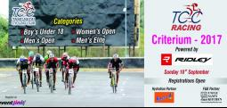 Tamilnadu Cycling Club Criterium Races 2017 - Sep 10, 2017 , 5:30 AM to 9:15 AM  - Chennai