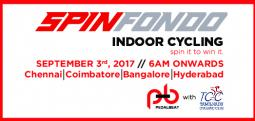 PedalBeat TCC SpinFondo - 2 - Sep 3, 2017 , 5:30 AM to 11:00 AM  - Hyderabad