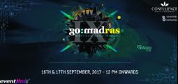 GO:MADras IX-Sep 16, 2017 to Sep 17, 2017 12:00 PM  Onwards - Chennai