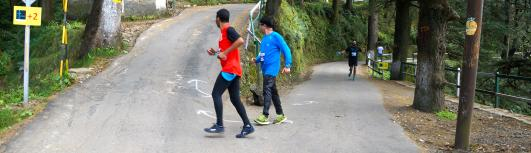 21K - Shimla Running And Living 25K - Sunday September 24th, 2017 5:30 AM  Onwards - Shimla