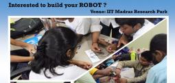 Automated robot workshop-Sep 3, 2017 , 9:30 AM to 4:30 PM  - Chennai