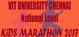 VIT UNIVERSITY CHENNAI NATIONAL LEVEL KIDS MARATHON 2017-Sep 24, 2017 , 2:00 PM to 5:00 PM  - Chennai