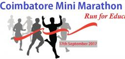 Coimbatore Mini  Marathon-Sep 17, 2017 5:30 AM  Onwards - Coimbatore