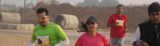 21, 42K-Gurgoan Running and living - Sunday December 3rd, 2017 , 5:00 AM to 10:00 AM  - Gurgaon