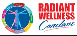 Radiant Wellness Conclave 2017-Sep 23, 2017 , 9:30 AM to 6:30 PM  - Chennai
