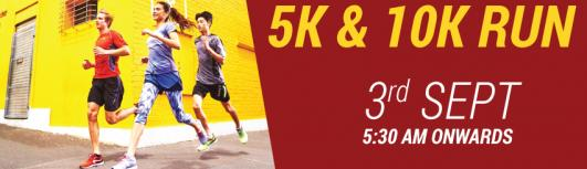 Decathlon Kalenji 5/10k Run - Sunday September 3rd, 2017 , 5:15 AM to 8:00 AM  - Chennai