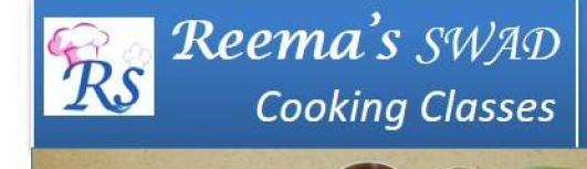 Reema SWAD Cooking classs 2 - Friday September 1st, 2017 to Friday September 29th, 2017  - Chennai