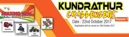 Kundrathur Challengers - Sunday October 22nd, 2017 , 3:00 PM to 8:00 PM  - Chennai