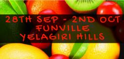 Monsoon Fruit Carnival-Sep 28, 2017 to Oct 2, 2017 , 8:00 AM to 8:00 PM  - Vellore