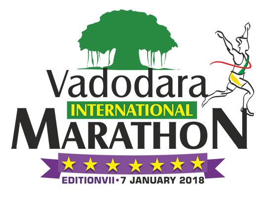Vadodara International Marathon - Jan 7, 2018 , 5:00 AM to 10:00 AM  - Vadodara