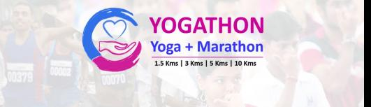 Yogathon (Yoga + Marathon) - Sunday November 26th, 2017 , 6:00 AM to 8:30 AM  - Chennai