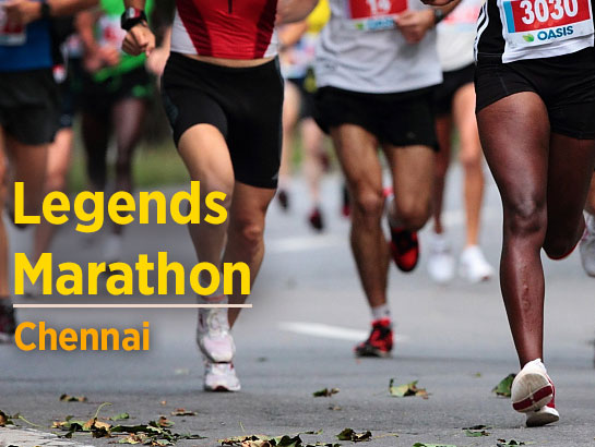 Legends Marathon 2018 Hyderabad-Jan 7, 2018  - Hyderabad