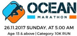 OCEAN MARATHON - Nov 26, 2017 , 5:00 AM to 10:00 AM  - Chennai