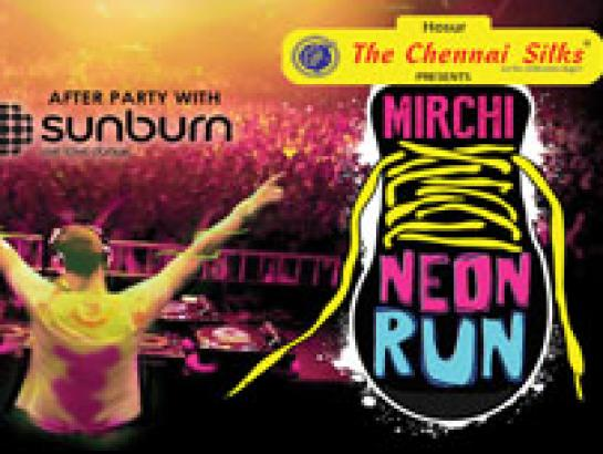Mirchi Neon Run-Jan 13, 2018  - Bengaluru