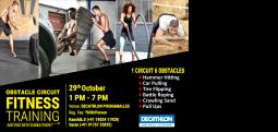 OBSTACLE CIRCUIT-Oct 29, 2017 , 12:00 PM to 7:00 PM  - Chennai