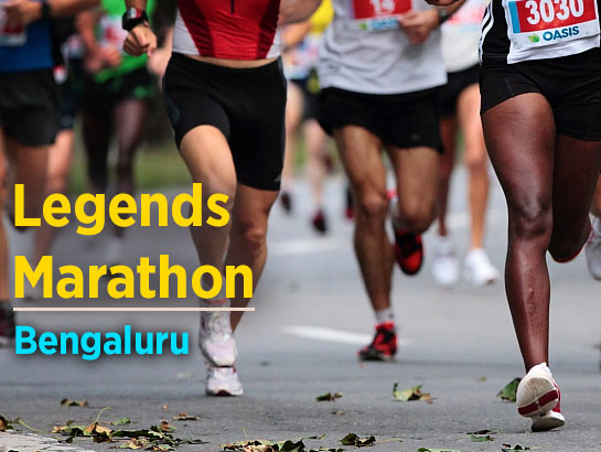 Legends Marathon-Feb 4, 2018  - Bengaluru