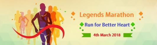 Legends Marathon  - Friday October 20th, 2017 to Sunday March 4th, 2018  - Pune