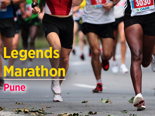 Legends Marathon -Oct 20, 2017 to Mar 4, 2018  - Pune