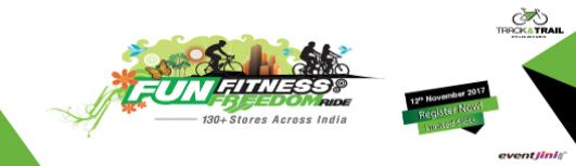 Track and Trail Ahmedabad- FUN FITNESS FREEDOM RIDE - Sunday November 12th, 2017 5:30 AM  Onwards - Ahmedabad