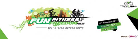 Track and Trail Thoraipakkam - FUN FITNESS FREEDOM RIDE - Sunday November 12th, 2017 5:30 AM  Onwards - Chennai