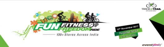Track and Trail Rider Stop - FUN FITNESS FREEDOM RIDE - Sunday November 12th, 2017 5:30 AM  Onwards - Mysore
