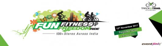 Track and Trail BARODA- FUN FITNESS FREEDOM RIDE - Sunday November 12th, 2017 5:30 AM  Onwards - Baroda