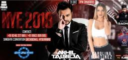New Year Party 2018 with Dj Akhil Talreja-Dec 31, 2017 to Jan 1, 2018 , 7:00 PM to 1:00 AM  - Hyderabad