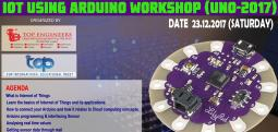IOT USING ARDUINO WORKSHOP (UNO-2017)-Dec 23, 2017 9:30 AM  Onwards - Chennai