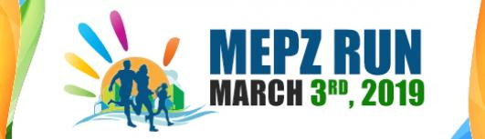 MEPZ RUN 2019 - Sunday March 3rd, 2019  - Chennai