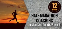 Half Marathon Coaching-12 Weeks (Customized for YOUR event) - Jan 15, 2018 to Apr 9, 2018  - Bengaluru