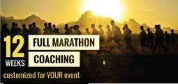 Full Marathon Coaching-12 Weeks (Customized for YOUR event) - Jan 15, 2018 to Apr 9, 2018  - Bengaluru