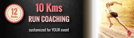 10 Km Run Coaching-12 Weeks (Customized for YOUR event) - Monday January 1st, 2018 to Monday March 26th, 2018  - Bengaluru