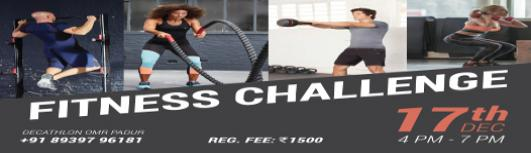 Cross Fit Challenge - Sunday December 17th, 2017 , 4:00 PM to 7:00 PM  - Chennai