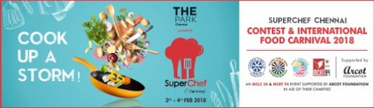 SUPERCHEF-ADULTS TEAM(of 2) - Saturday February 3rd, 2018 to Sunday February 4th, 2018  - Chennai