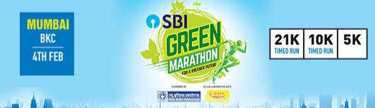 2K Ahmedabad - SBI Green Marathon - Sunday February 25th, 2018 5:00 AM  Onwards - Mumbai
