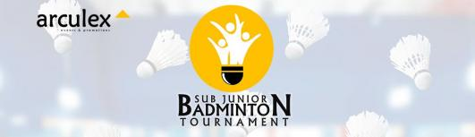 Sub Junior Badminton Tournament - With Arculex/Falcon Badminton Academy - Saturday March 3rd, 2018 to Sunday March 4th, 2018 , 10:00 AM to 6:00 PM  - Chennai