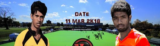 HIT vs HICET Hockey - Friday March 9th, 2018 to Saturday March 10th, 2018 , 4:00 PM to 6:45 PM  - Coimbatore