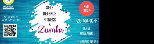 Self Defense Fitness and Zumba - Sunday March 25th, 2018 , 6:00 PM to 9:00 PM  - Chennai