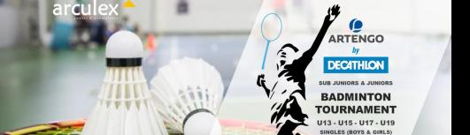 Artengo by Decathlon Badminton Tournament - Saturday April 14th, 2018 to Sunday April 15th, 2018 , 8:00 AM to 6:00 PM  - Chennai