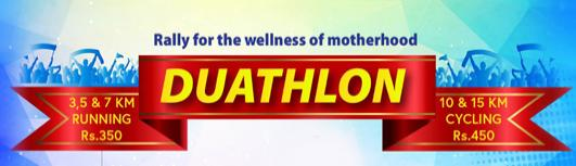 Duathlon - 2018 - Sunday May 13th, 2018 , 6:00 AM to 10:00 AM  - Chennai