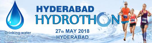 Hyderabad Hydrothon 2018 - Sunday May 27th, 2018 , 6:00 AM to 9:00 AM  - Hyderabad