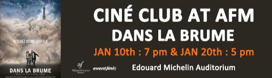 Cine club : dans la brume - Sunday January 20th, 2019 , 5:00 PM to 6:30 PM  - Chennai