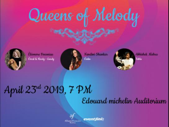 Queens of Melody-Apr 23, 2019 , 7:00 PM to 8:15 PM  - Chennai