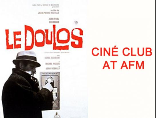 Cine Club: Le Doulos-Oct 20, 2019 , 5:00 PM to 6:30 PM  - Chennai